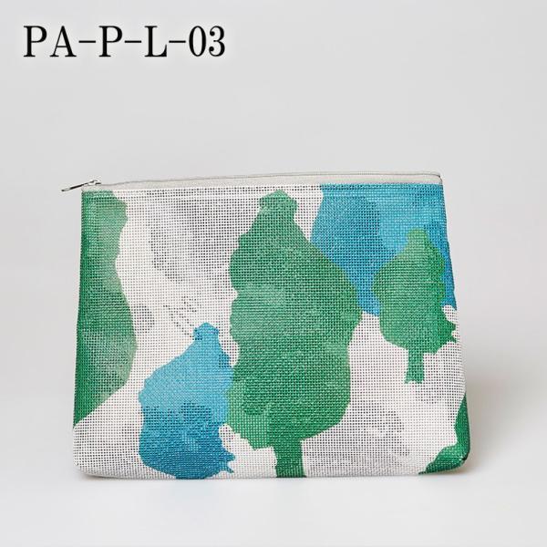 PA-P-L-03 ▲ メール便 不可▲ PANAMA パナマ ポーチ Lサイズ Pouch Large size|blancoron