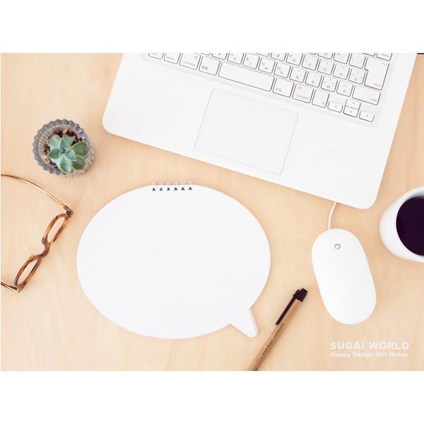 Speech Bubble Notebook (18) 吹き出しノート  SUGAI WORLD スガイワールド|blancoron|02