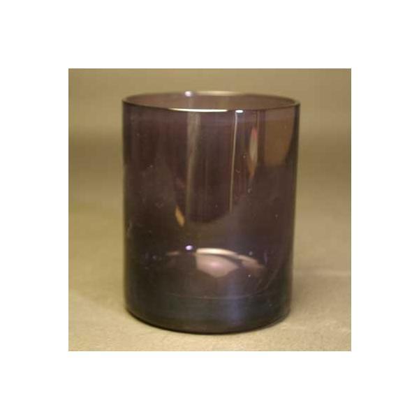 新元号記念 ロックグラス 紫色 高級被せガラス 送料無料|blastglass|03