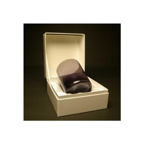 新元号記念 ロックグラス 紫色 高級被せガラス 送料無料|blastglass|04