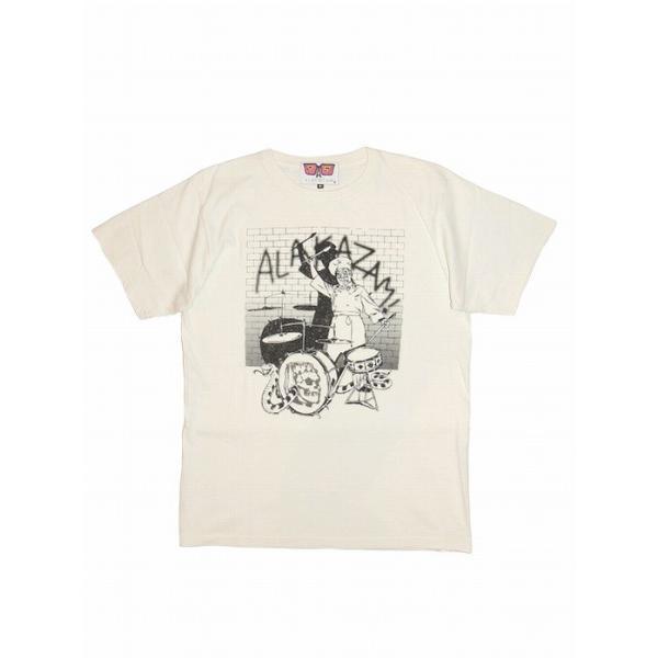 20%OFF ALAKAZAM アラカザム 半袖 Tシャツ プリントChef by Hiroshi Iguchi/OFF WHITE|bless-web|02