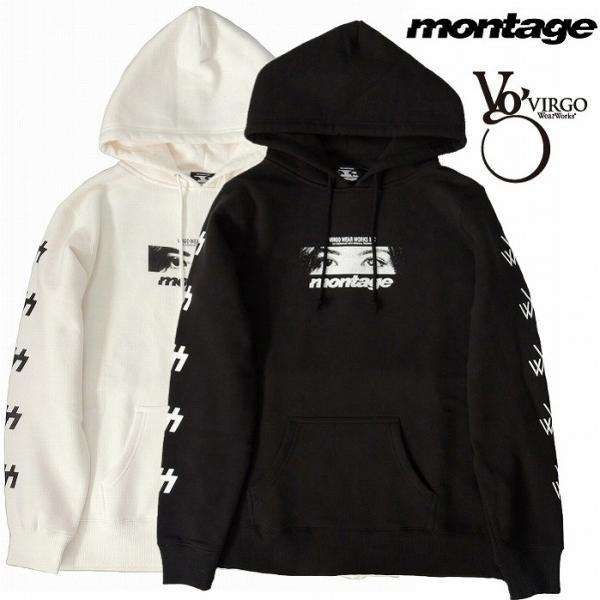 VIRGO ヴァルゴ montage モンタージュ パーカー プルオーバーVIRGOwearworks×montage SWEAT PARKA|bless-web