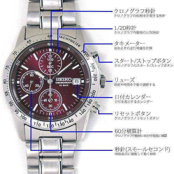 還暦祝い 腕時計 匠の名入れ付 赤色 セイコー クロノグラフ SEIKO SBTQ045|blessyou|05