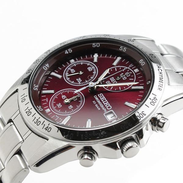 還暦祝い 腕時計 匠の名入れ付 赤色 セイコー クロノグラフ SEIKO SBTQ045|blessyou|07