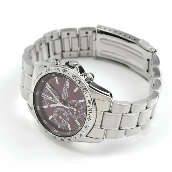還暦祝い 腕時計 匠の名入れ付 赤色 セイコー クロノグラフ SEIKO SBTQ045|blessyou|08