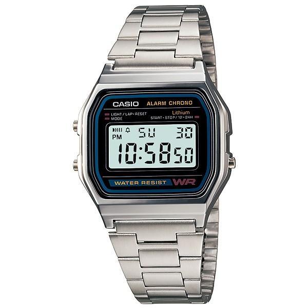 在庫ありチープカシオレディースA158WA-1JFカシオCASIO腕時計ネコポス配送メンズ腕時計チプカシラッピング不可