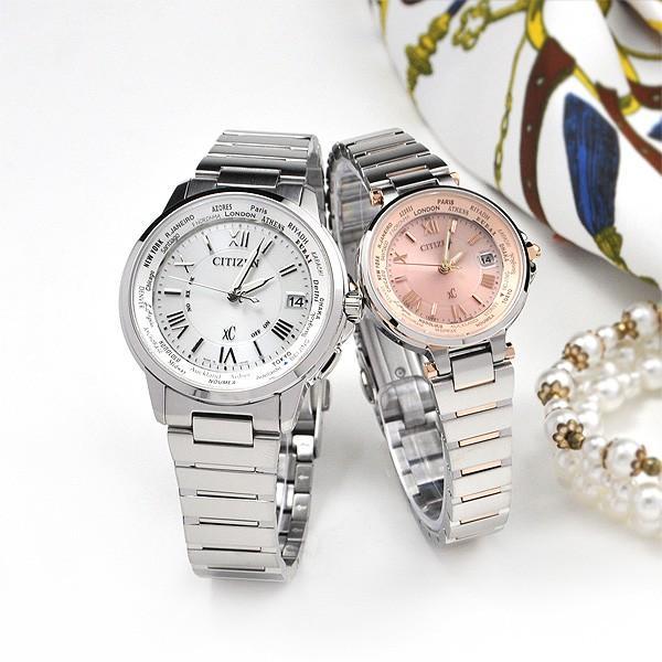 ペアウォッチ シチズン  クロスシー 電波ソーラー腕時計 CB1020-54A_EC1014-65W 113000|blessyou|02