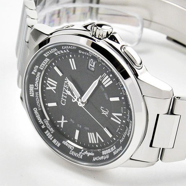 シチズン クロスシー  ペアウオッチ bk&bk 電波ソーラー腕時計  XC CB1020-54E_EC1010-57F 110,0|blessyou|11