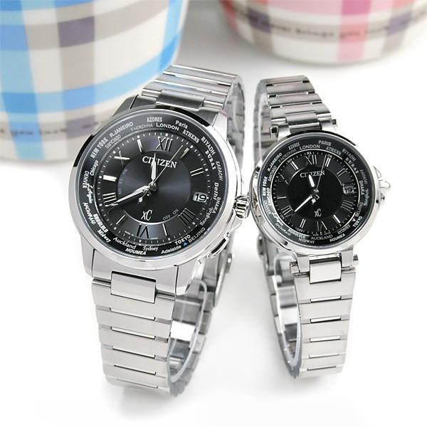シチズン クロスシー  ペアウオッチ bk&bk 電波ソーラー腕時計  XC CB1020-54E_EC1010-57F 110,0|blessyou|06