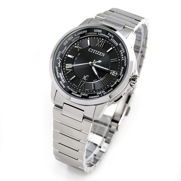 シチズン クロスシー  ペアウオッチ bk&bk 電波ソーラー腕時計  XC CB1020-54E_EC1010-57F 110,0|blessyou|07
