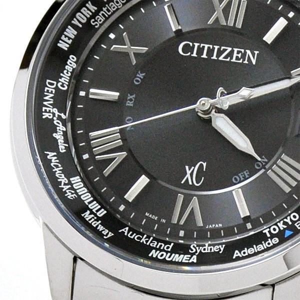シチズン クロスシー  ペアウオッチ bk&bk 電波ソーラー腕時計  XC CB1020-54E_EC1010-57F 110,0|blessyou|09