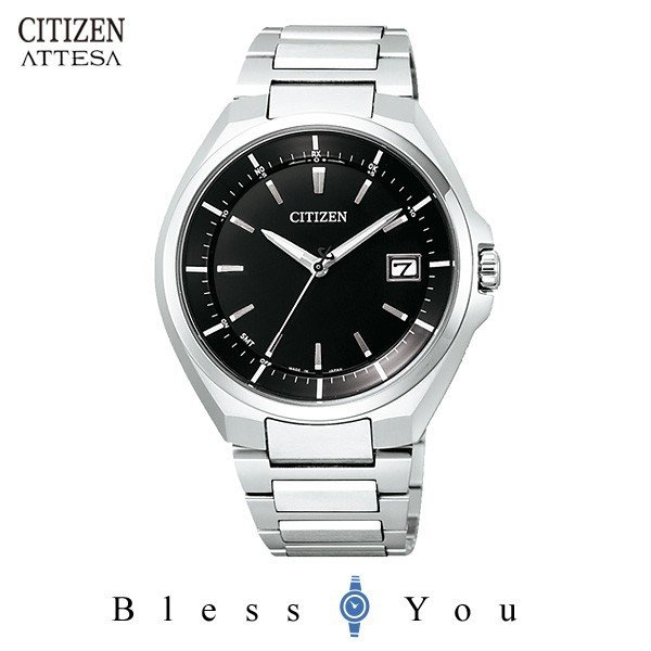 【最大26%相当還元】 メンズ腕時計 シチズン アテッサ エコドライブ 電波時計 メンズ 腕時計 CB3010-57E 65000 blessyou 07
