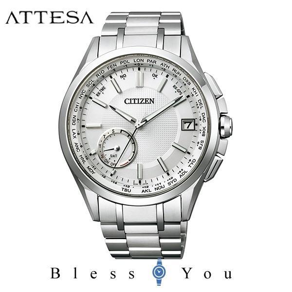 【最大26%相当還元】 メンズ腕時計 シチズン アテッサ エコドライブ 電波時計 メンズ 腕時計 CC3010-51A 170000 blessyou