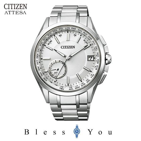 【最大26%相当還元】 メンズ腕時計 シチズン アテッサ エコドライブ 電波時計 メンズ 腕時計 CC3010-51A 170000 blessyou 06