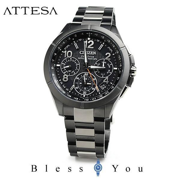 【最大26%相当還元】 メンズ腕時計 シチズン 電波ソーラー 腕時計 メンズ アテッサ CC9075-52E 230000|blessyou