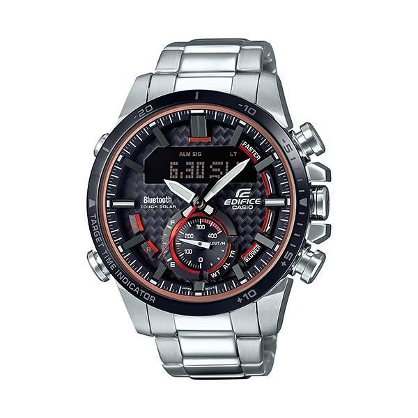 【最大26%相当還元】 メンズ腕時計 カシオ ソーラー 腕時計 メンズ エディフィス 2018年8月新作 ECB-800DB-1AJF 38000|blessyou|02