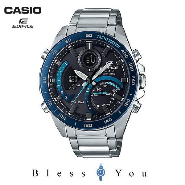 【最大26%相当還元】 メンズ腕時計 カシオ ソーラー 腕時計 メンズ エディフィス 2019年3月 ECB-900YDB-1BJF 40000 blessyou