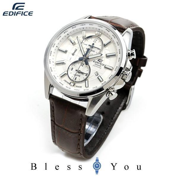 【最大26%相当還元】 メンズ腕時計 日本製 カシオ 腕時計 メンズ エディフィス チョコレート ブラウン レザーバンド EFB-302JL-7AJF 30000 blessyou