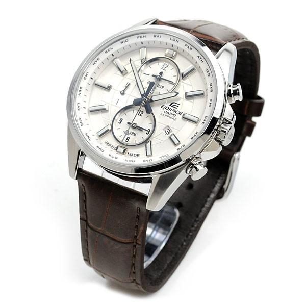 【最大26%相当還元】 メンズ腕時計 日本製 カシオ 腕時計 メンズ エディフィス チョコレート ブラウン レザーバンド EFB-302JL-7AJF 30000 blessyou 02