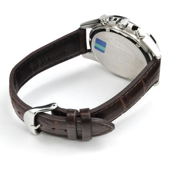 【最大26%相当還元】 メンズ腕時計 日本製 カシオ 腕時計 メンズ エディフィス チョコレート ブラウン レザーバンド EFB-302JL-7AJF 30000 blessyou 03