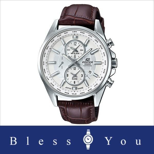 【最大26%相当還元】 メンズ腕時計 日本製 カシオ 腕時計 メンズ エディフィス チョコレート ブラウン レザーバンド EFB-302JL-7AJF 30000 blessyou 10