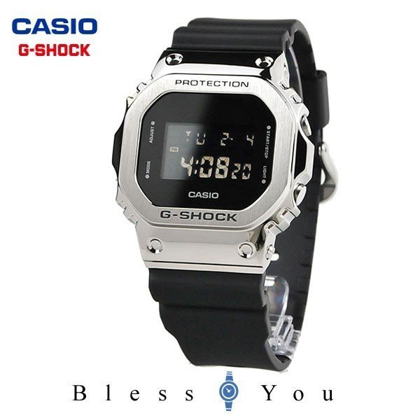 カシオgショックG-SHOCK腕時計メンズメタルベゼル2019年9月GM-5600-1JF22000