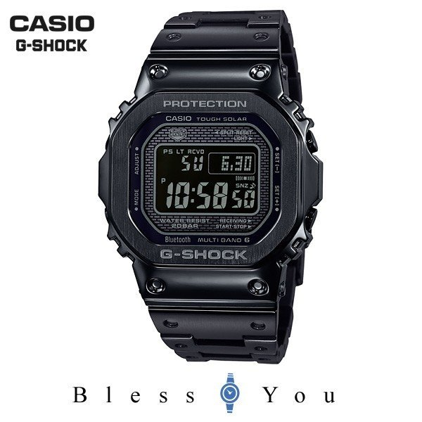 メンズ腕時計 カシオ 電波ソーラー 腕時計 メンズ Gショック 2018年9月 GMW-B5000GD-1JF 68000 blessyou