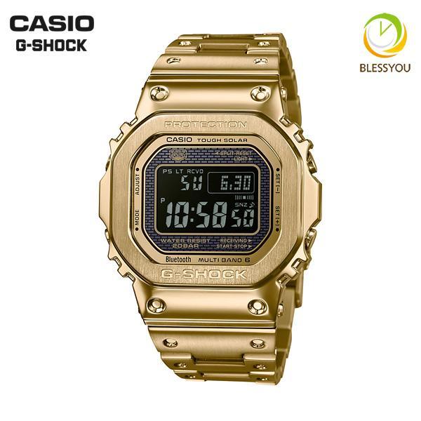 カシオ gショック 電波ソーラー G-SHOCK 腕時計 メンズ 2018年9月 GMW-B5000GD-9JF 68000|blessyou