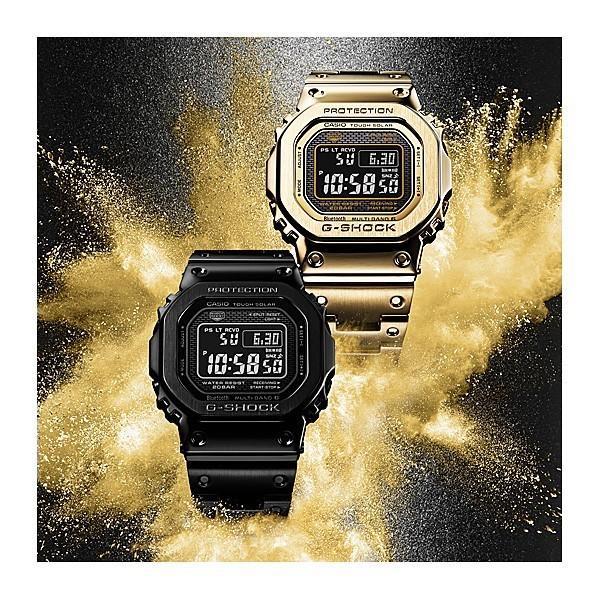 カシオ gショック 電波ソーラー G-SHOCK 腕時計 メンズ 2018年9月 GMW-B5000GD-9JF 68000|blessyou|03
