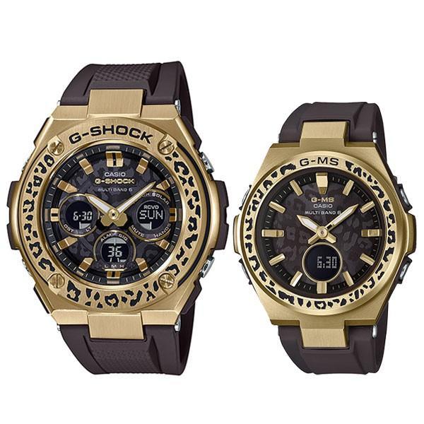 カシオ 電波ソーラー 腕時計 ペアウォッチ  Gショック & ベビーG WILDLIFE PROMISING コラボモデル GST-W310WLP-1A9JR-MSG-W200WLP-5AJR 84,0 あすつく|blessyou|02