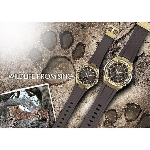 カシオ 電波ソーラー 腕時計 ペアウォッチ  Gショック & ベビーG WILDLIFE PROMISING コラボモデル GST-W310WLP-1A9JR-MSG-W200WLP-5AJR 84,0 あすつく|blessyou|03