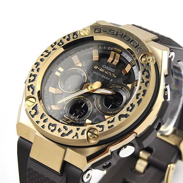 カシオ 電波ソーラー 腕時計 ペアウォッチ  Gショック & ベビーG WILDLIFE PROMISING コラボモデル GST-W310WLP-1A9JR-MSG-W200WLP-5AJR 84,0 あすつく|blessyou|04