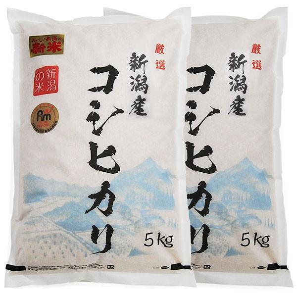 米10kg 送料無 巣ごもり食品 令和二年  新潟県産コシヒカリ  新潟産コシヒカリ 10kg (5キロ×2袋=10キロ)巣ごもり 食品