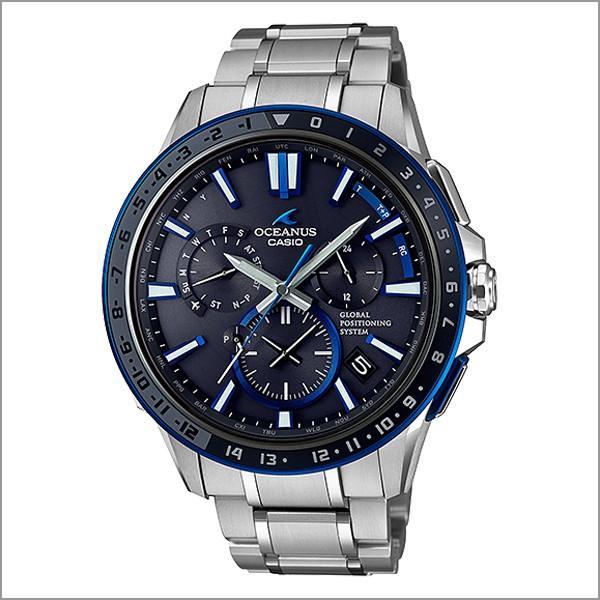 メンズ腕時計 ソーラー 電波時計 カシオ オシアナス OCW-G1200-1AJF 230000|blessyou|02