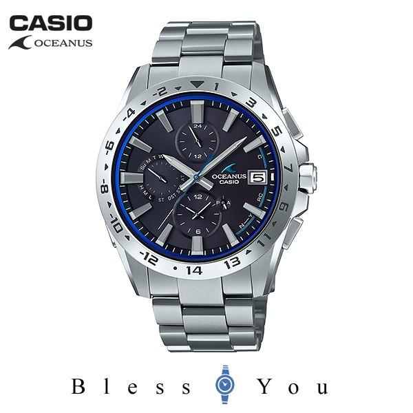 メンズ腕時計 オシアナス カシオ 電波ソーラー メンズ  2018年10月 OCW-T3000-1AJF 100000|blessyou