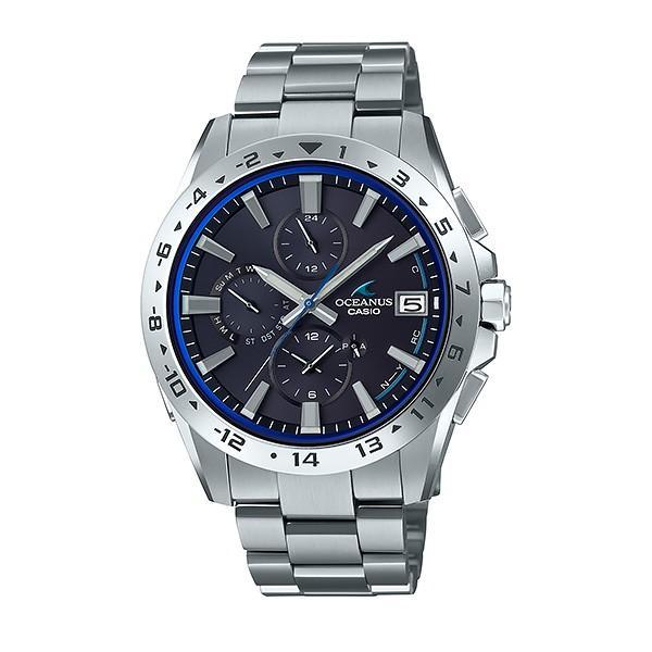 メンズ腕時計 オシアナス カシオ 電波ソーラー メンズ  2018年10月 OCW-T3000-1AJF 100000|blessyou|02