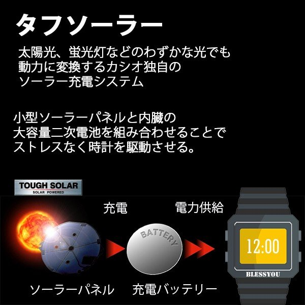 メンズ腕時計 オシアナス カシオ 電波ソーラー メンズ  2018年10月 OCW-T3000-1AJF 100000|blessyou|06