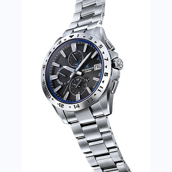 メンズ腕時計 オシアナス カシオ 電波ソーラー メンズ  2018年10月 OCW-T3000-1AJF 100000|blessyou|03