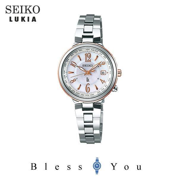 セイコー腕時計 レディース ルキア ソーラー電波  SSVV034 58,0