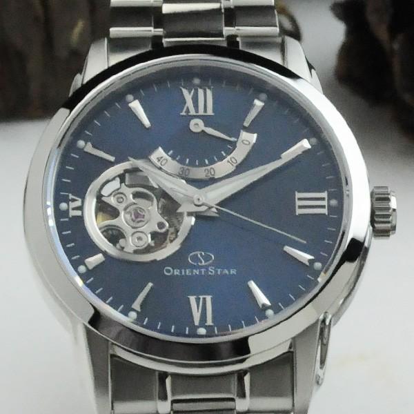 オリエント オープンハートペアウォッチ blue 機械式時計 WZ0081DA-WV0421DB 104,0|blessyou|02