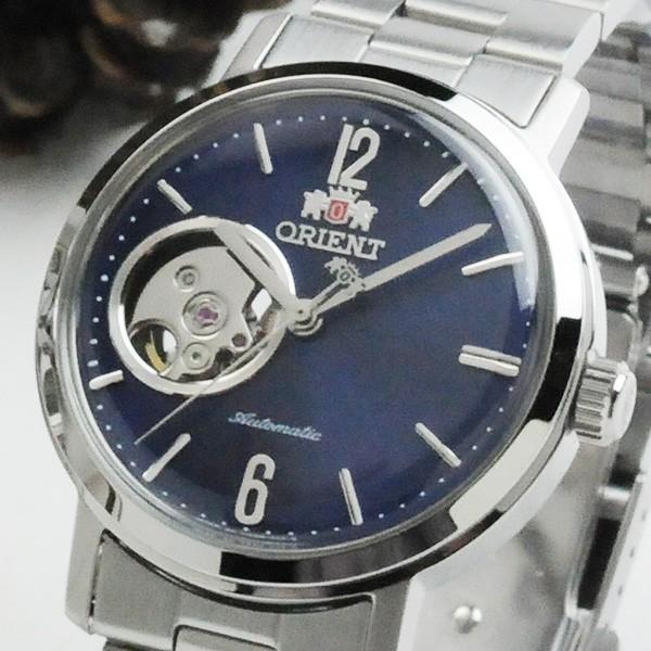 オリエント オープンハートペアウォッチ blue 機械式時計 WZ0081DA-WV0421DB 104,0|blessyou|03