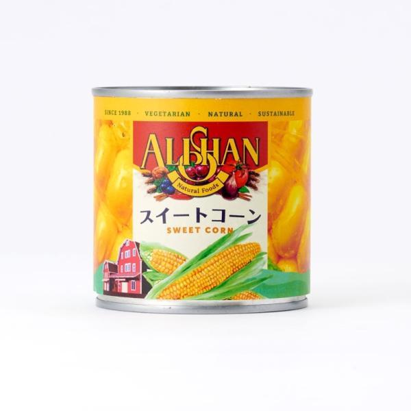 スイートコーン缶詰 340g アリサン ALISHAN