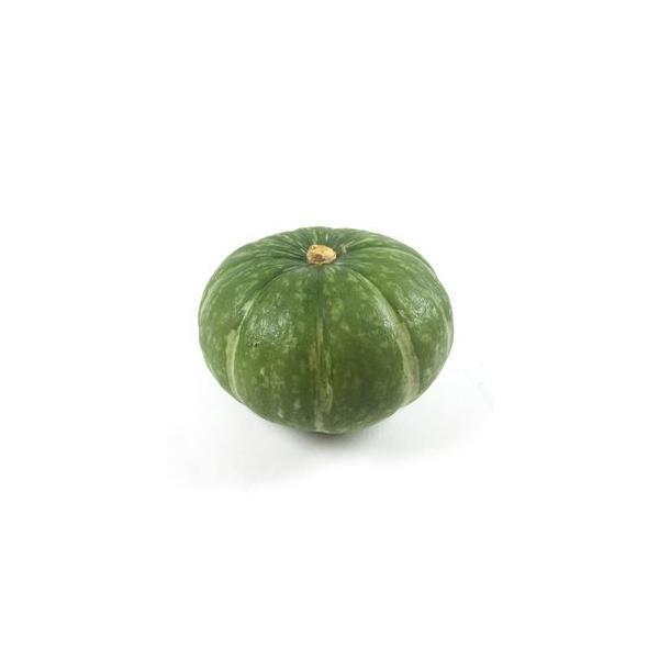 送料無料 【朝市場の新鮮野菜】鈴南瓜 1個 x2個セット