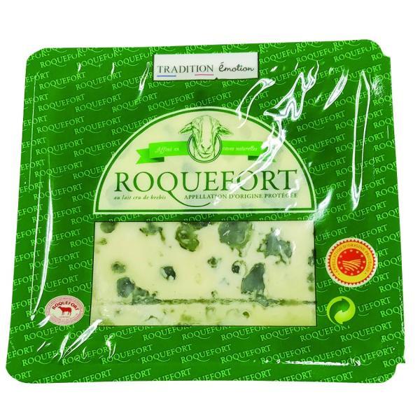 チーズ ブルーチーズ 送料無料  ロックフォール 100g×2個セット 冷蔵