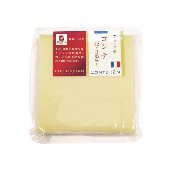 チーズ ナチュラルチーズ コンテ 12ヶ月熟成 Sカット 90g×4個セット 冷蔵