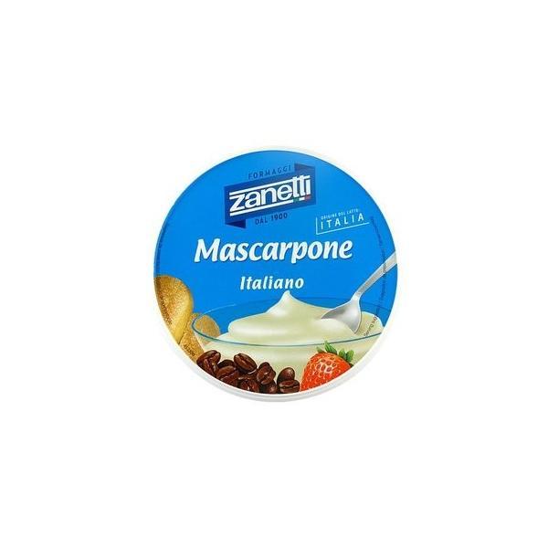 チーズ ナチュラルチーズ ザネッティ マスカルポーネ 250g×4個セット  冷蔵