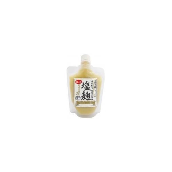 【送料無料(メール便)】有機玄米塩麹 170g 海の精 ムソー muso