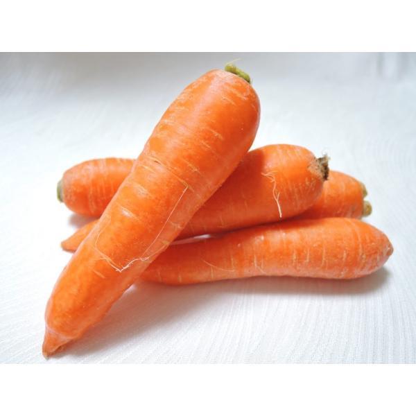 【ムソーの安心野菜】【冷蔵】有機 人参 洗い(S〜2S小サイズ)5kg