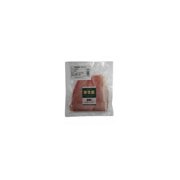 冷凍食品 ムソー ファーマーズ 放牧豚モモスライス(1.5mm厚)200g関東送料765円 安心 保存食 中食 夜食