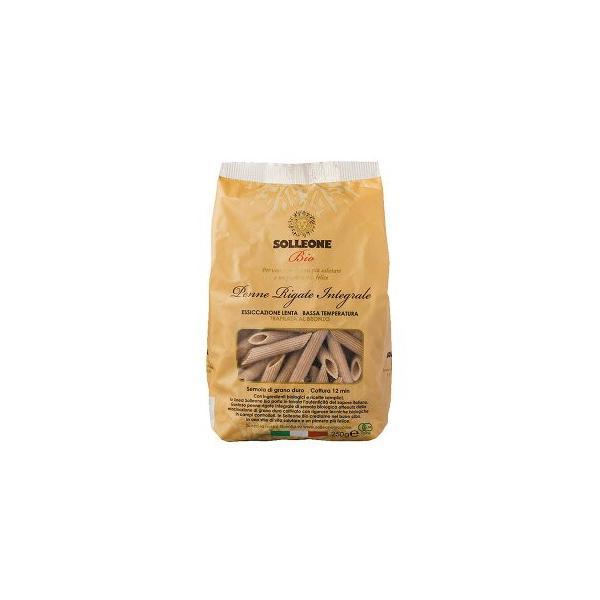 ソル・レオーネビオ オーガニック・ブロンズダイス・全粒粉ペンネ・リガーテ 250g 20個セット